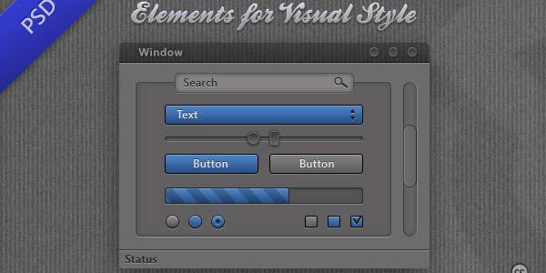 110 Free PSD Web Design Elements | Pixel Curse