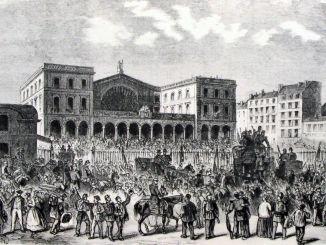 1849 : la construction de #gares monumentales commencent en France.