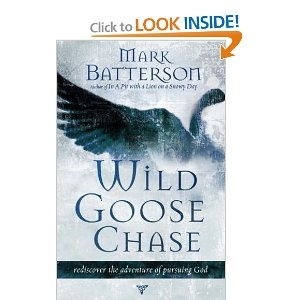 Wild Goose Chase, by Mark Batterson