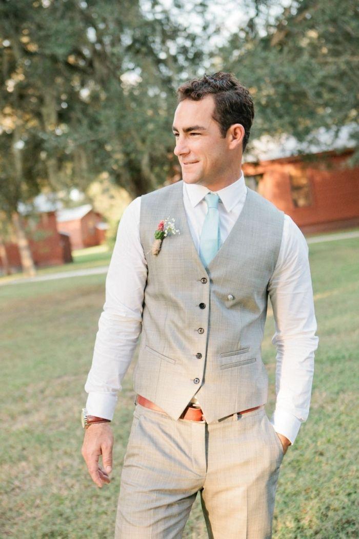 mariage homme sans veste