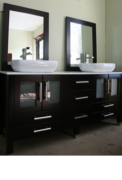 dark wood bathroom vanity love dark wood in bathrooms