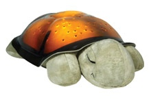 This cute little Turtle can be added to any gift set. Projects 8 constellations onto your wall and ceilings and glows in 3 colors.  By Cloud B.     $28.95