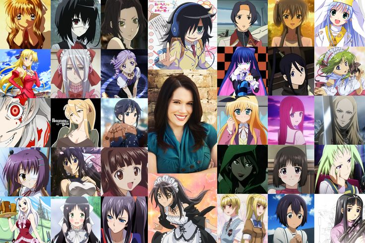 Monica rial character voices monica rial anime voice