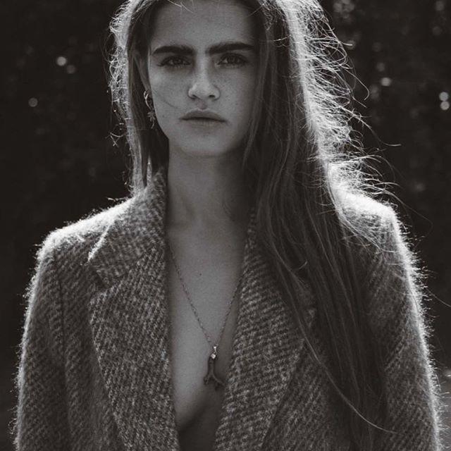 'Lauren Mohair Coat' as seen in L'OFFICIEL NL MAGAZINE
