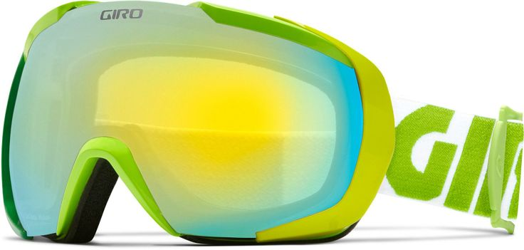 With an oversized lens and a minimalist frame design, the Giro Onset snow goggles open up your view of the mountain. #REIGifts