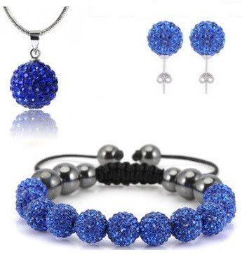 Infinity Shamballa Set Blue