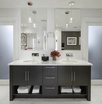 38 Best Images About Master Bath Vanity Inspiration On Pinterest Eclectic Bathroom