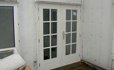 Tuindeuren foto's - Tuindeuren-OPMAAT.nl - Openslaande houten tuindeuren