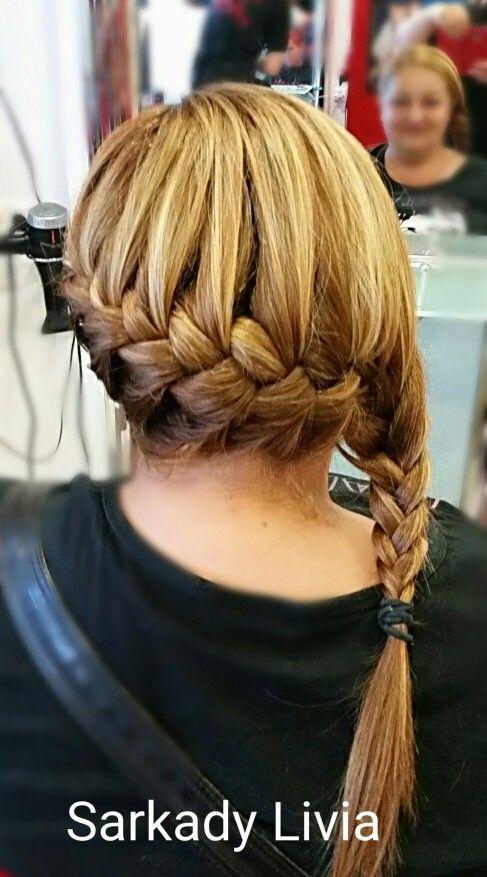 Braid#hajfonàs#hairstyle