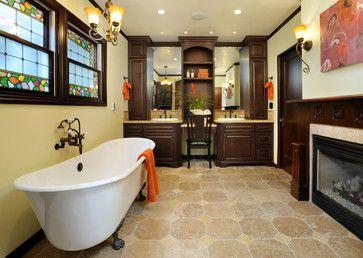 Black Mountain Residence - mediterranean - bathroom - san francisco - Christian Rice Architects, Inc.