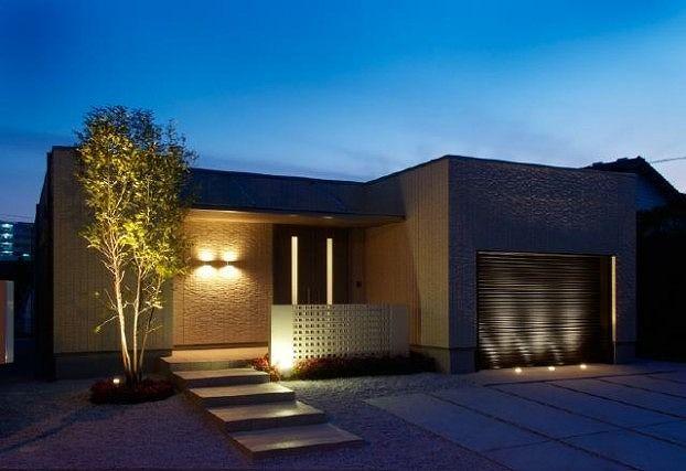 高級感あふれるエクステリア 株式会社タップハウス 熊本県K様邸-Lighting Meister