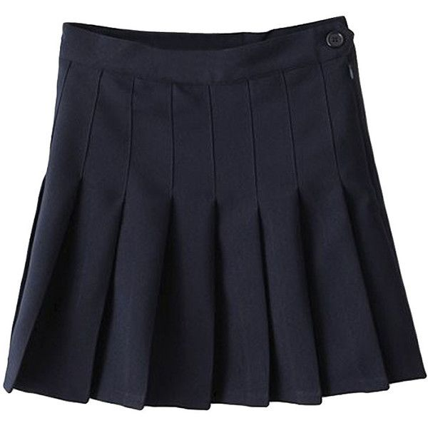 Sweet Solid Pleated Mini Skirt (600 THB) ❤ liked on Polyvore featuring skirts, mini skirts, bottoms, oasap, white, mini skirt, short skirts, high-waisted skirts, pleated miniskirt and white high waisted skirt