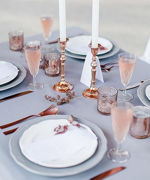 Serenity Table Setting