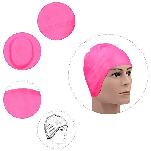 Nuova offerta in #sport : Sbart Cap nuotata impermeabile in silicone con i sacchetti dell'orecchio per uomini donne e adulti-perfetto per mantenere l'acqua lontano da orecchie e capelli (rosa) a soli 11.89 EUR. Affrettati! hai tempo solo fino a 2016-09-28 23:35:00