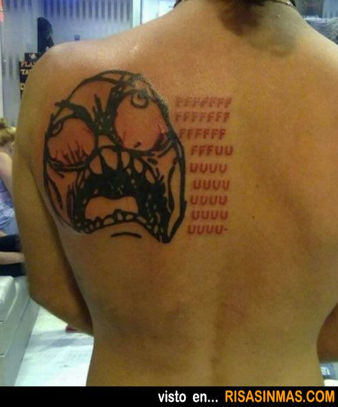 Tatuajes horribles: Meme.