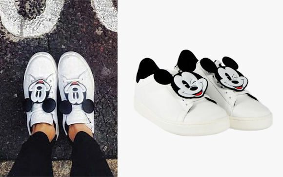 Baskets Mickey Mouse x MOA Disney (édition limitée) : http://ptilien.fr/llJ5