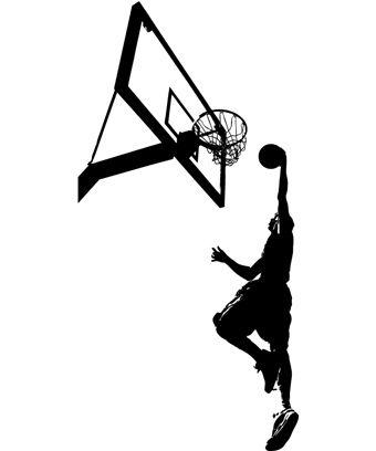 Εφηβικό Δωμάτιο | Αυτοκόλλητα τοίχου με αθλήματα - Basketball 06