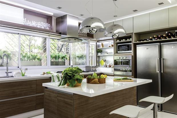 Las 25 mejores ideas sobre cocina moderna casa de campo for Cocina comedor en l