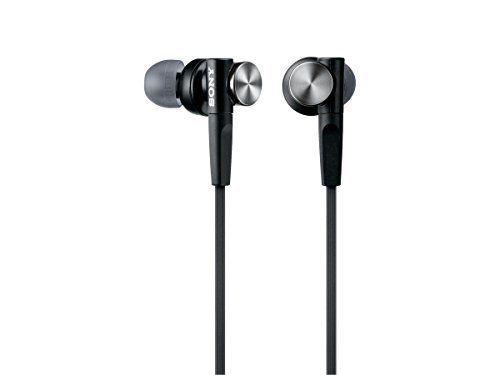 SONY earphone MDR - XB50: Canal type black MDR - XB 50 B #Sony