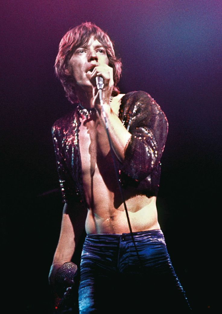 Mick Jagger, The Roundhouse, March 14, 1971