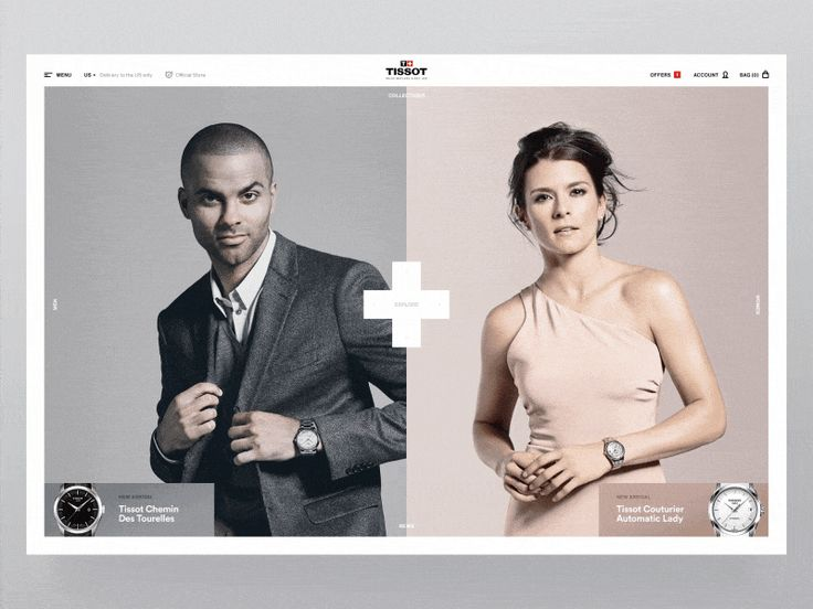 Tissot Watches E-Commerce by ToyFight®