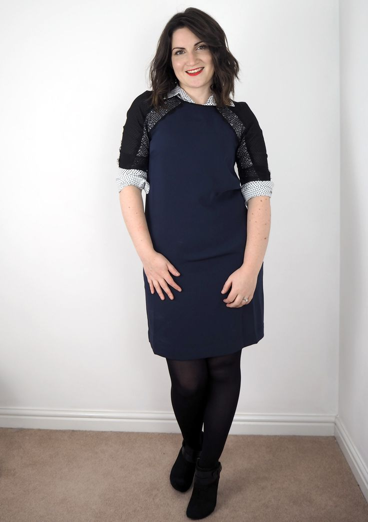 Try adding a button down shirt under your dress to make it work appropriate