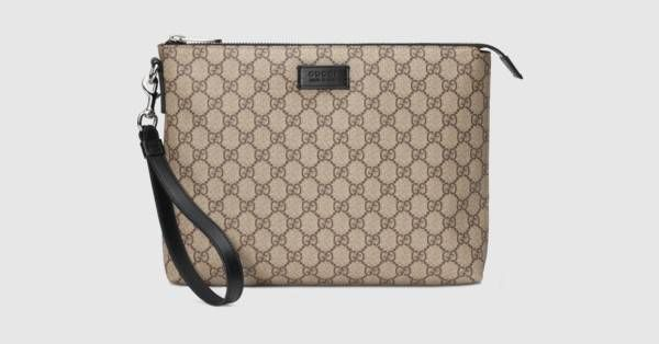 Sac pour homme Suprême GG   Pinterest   Gucci, Father father and Supreme d340d696885