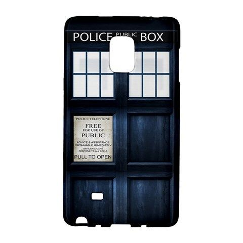 Tardis Samsung Galaxy Note EDGE Case Wrap Around