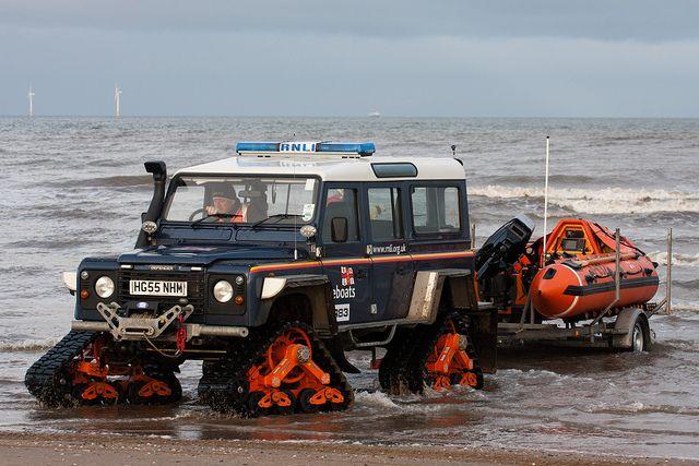 RNLI Tracked Land Rover   Flickr - Photo Sharing!
