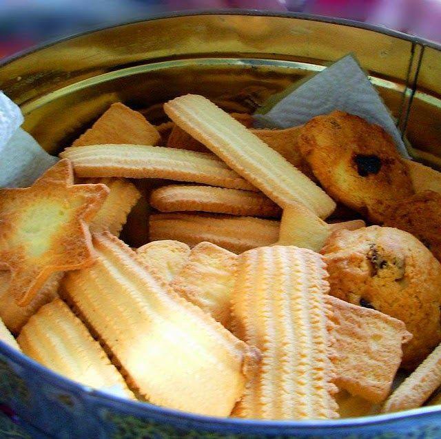 Cuisine maison, d'autrefois, comme grand-mère: Recette de spritz, sablés, bredele de Saint-Nicolas à Noël (Alsace)