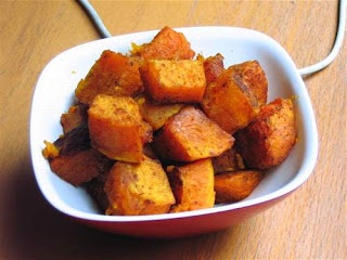 ... No Mayo: Roasted Butternut Squash with Moroccan Spices: Back in Orange