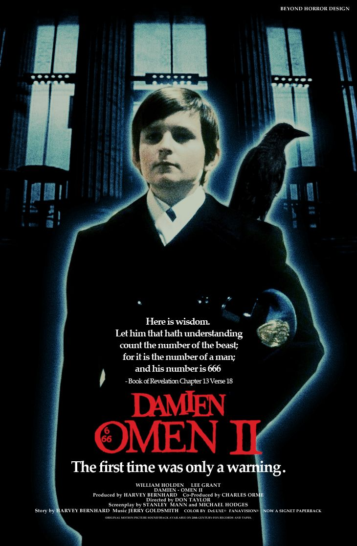 OMEN, THE & DAMIEN - OMEN II. The actor who played Damien in this film is now a financial adviser!!! Quite apt methinks.