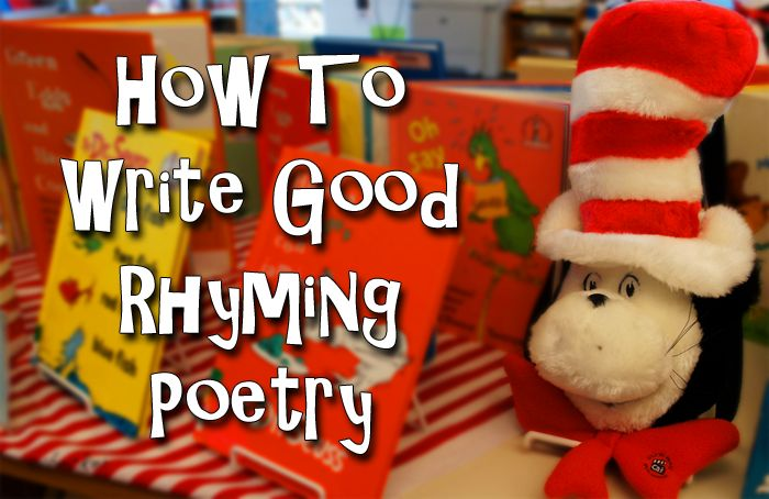 How To Write Good Rhyming Poetry - Writer's Relief