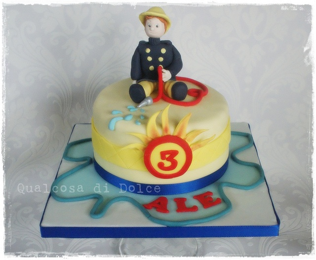 sam the fireman by qualcosa di dolce, via Flickr