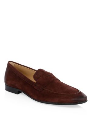 bd301d7fa747 TOD S Suede Penny Loafers.  tods  shoes