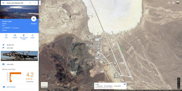 TIL That the Google Maps Street View Human turns into a UFO when dragging it over Area 51, Groom Lake, Nevada, USAimSythe - http://asianpin.com/til-that-the-google-maps-street-view-human-turns-into-a-ufo-when-dragging-it-over-area-51-groom-lake-nevada-usaimsythe/