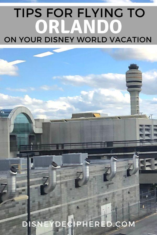 Flying To Disney World Orlando Airport Tips Orlando Airport
