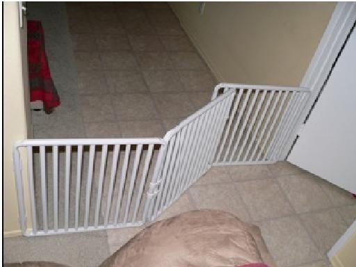 extra wide indoor pet gate