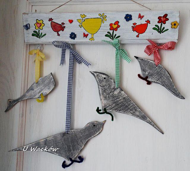 U Wacków : Drewniane ptaszki