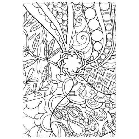 Free Printable Zentangle Coloring Pages Adult   Essential Teen Study Bible: New King James Version, Make ...