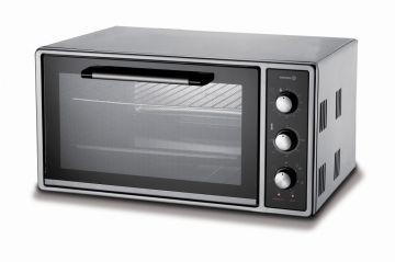 Korkmaz A489 Oveny Plus Midi Fırın Siyah