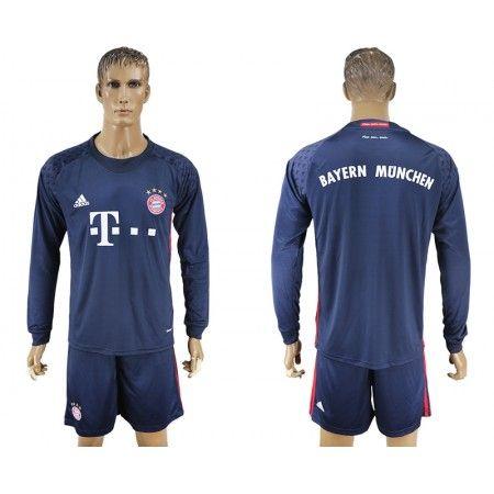 #Bayern München 16-17 målmand Hjemmebanetrøje Lange ærmer,245,14KR,shirtshopservice@gmail.com