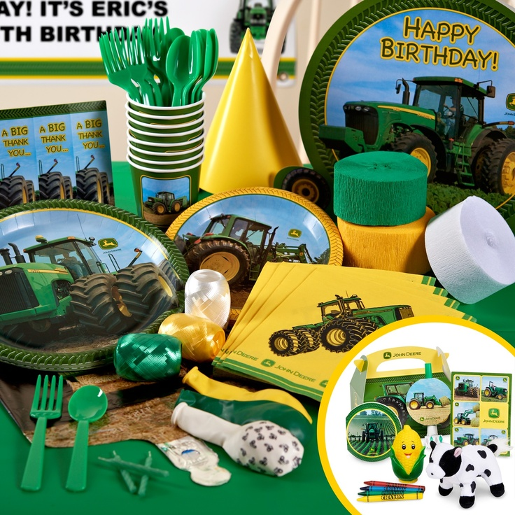 Mickey Mouse Cartoons John Deere Tractors : Best images about mickey mouse john deere tractor bday