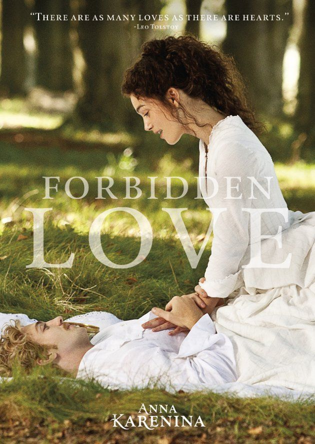 There are 3 love affairs that cannot be in 1886! Forbidden Love: #AnnaKarenina #BigFilmTheme