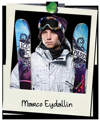 Freeskicamp coach Marco Eydallin