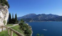 Wanderung auf dem alten Ponale Weg - Trentino, Dolomiten - Italien