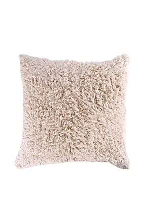 "Indulge in the exceptional softness of our 100% cotton flokati shaggy scatter cushion. The beautiful finish will bring natural sophistication and a touch of class to your living space.<div class=""pdpDescContent""><BR /><b class=""pdpDesc"">Dimensions:</b><BR />L60xW60 cm<BR /><BR /><b class=""pdpDesc"">Fabric Content:</b><BR />100% Polyester</div>"