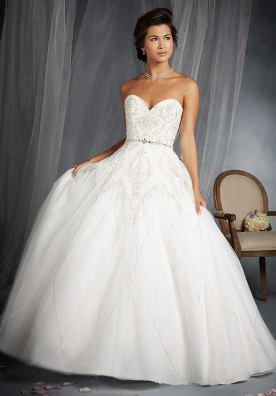 Fresh Alfred Angelo Disney Fairy Tale Weddings Bridal Collection Wedding Dress photo