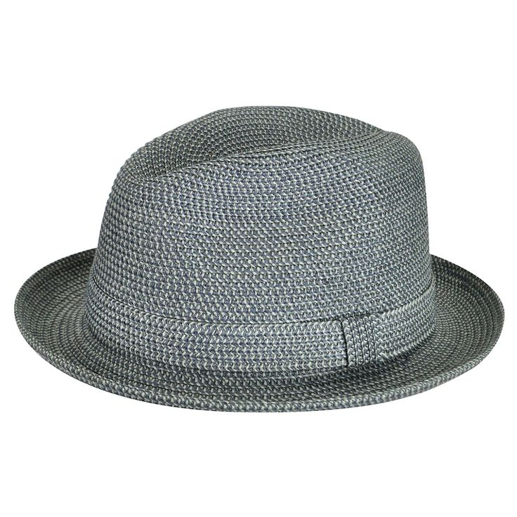 Men's Country Gentleman Theo Fedora, Blue (Navy)   – Casual wear for men