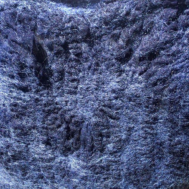 Rich nuno felt texture #textile #nunofelt #felt #handmade #silk #wool #merinowool #newzealandwool #handdyed #handdyedfabric #blue #navyblue  #fabricmanipulation